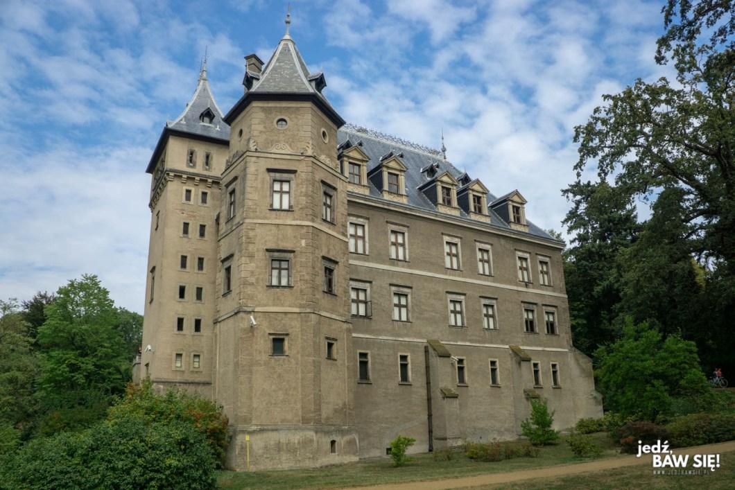 Zamek w Gołuchowie - widok z zewnątrz