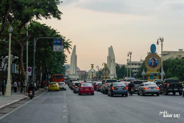 Bangkok - Pomnik Demokracji