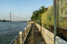 Bangkok - spacer nad rzeką