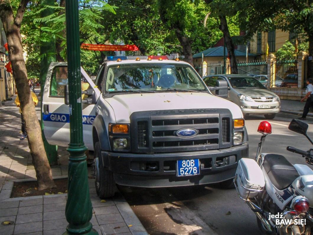 Hanoi - radiowóz
