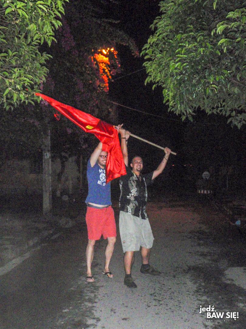 Hoi An - flaga komunistyczna