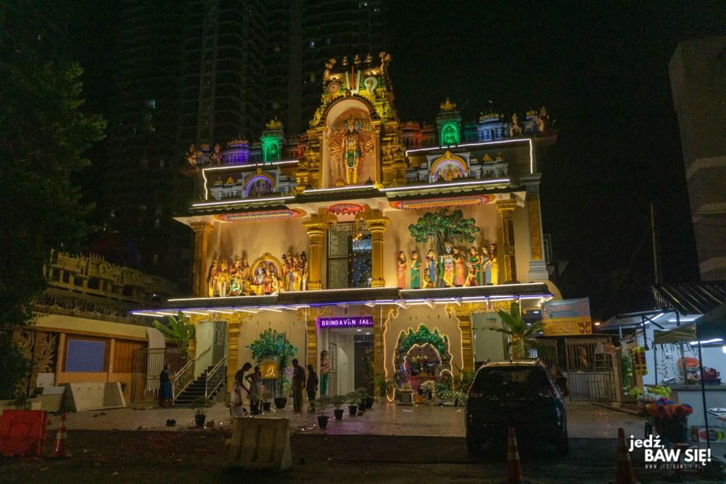 Kuala Lumpur - świątynia hinduistyczna