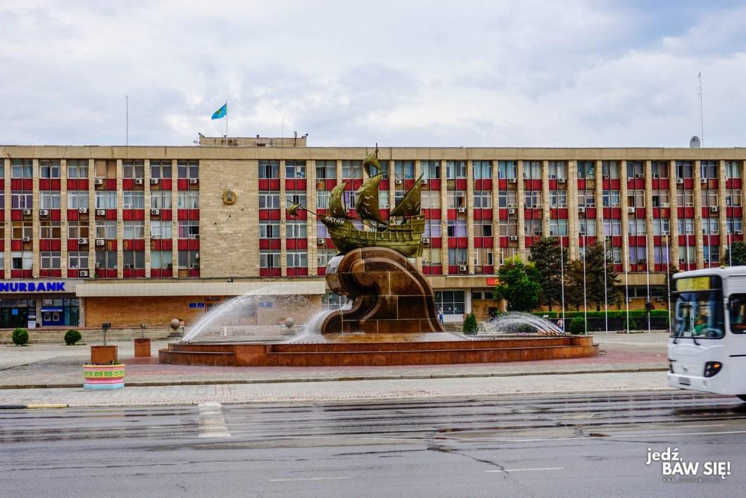 Aktau - plac główny