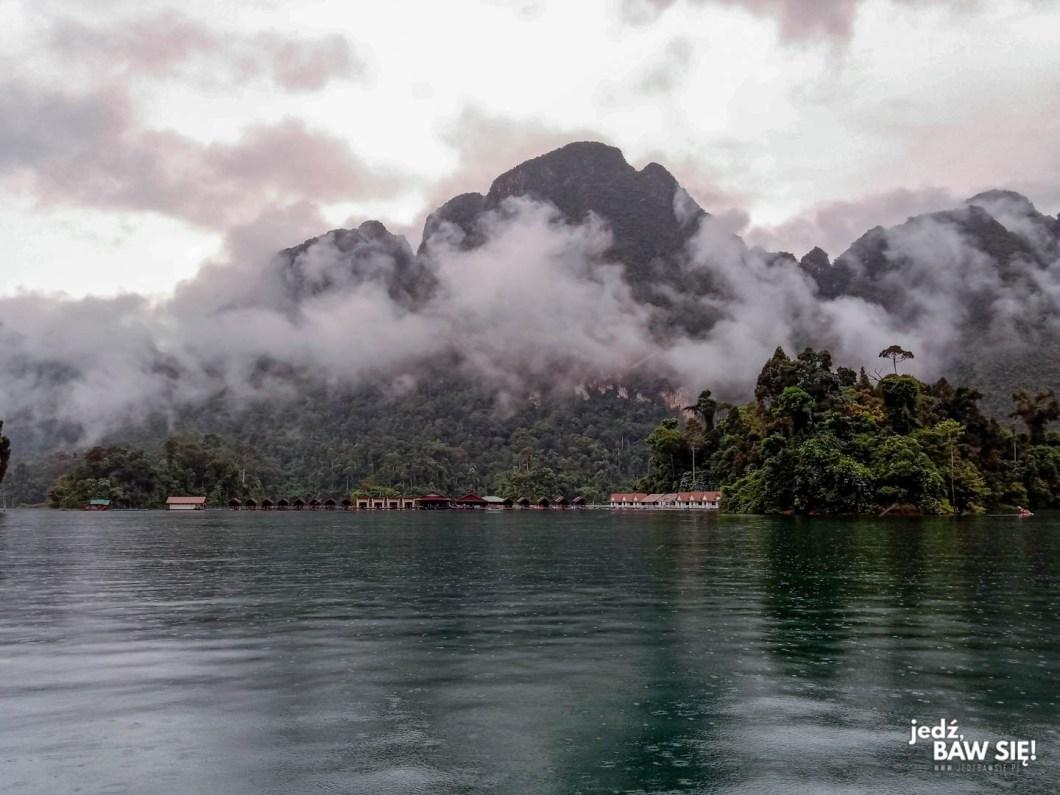 Khao Sok z jeziora
