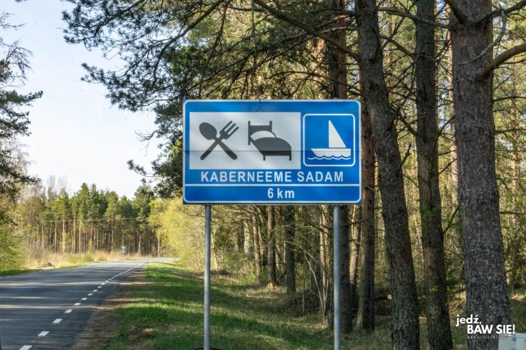 Oznaczenia drogowe krajów nadbałtyckich