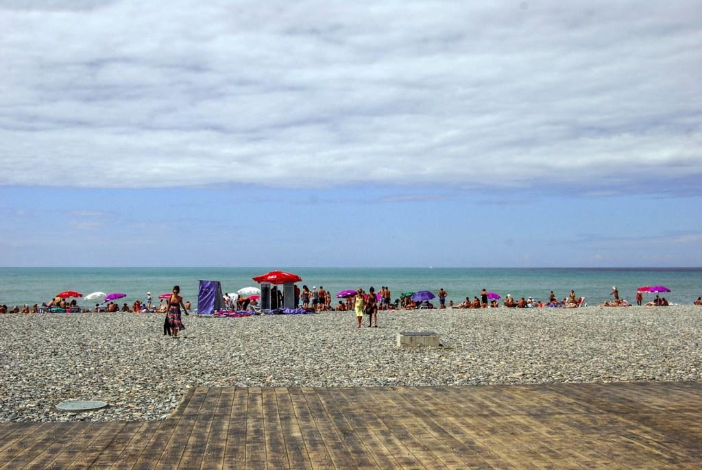 Batumi - plaża