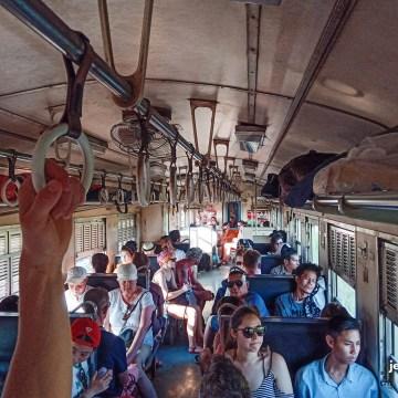 Pociąg do Ayutthai