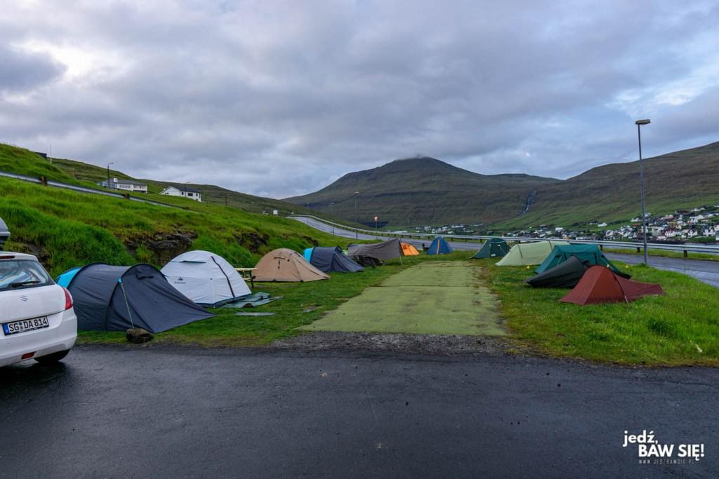 Wyspy Owcze - Giljanes Camping