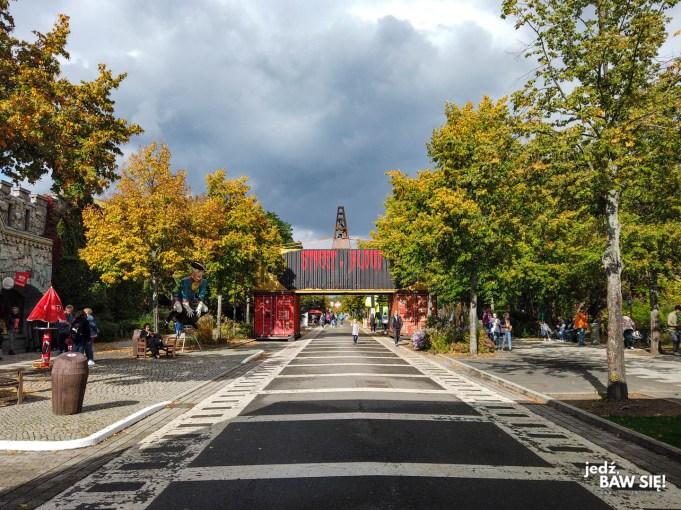 Babelsberg Film Park - widok od wejścia