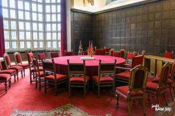 Cecilienhof - stół Konfernecji poczdamskiej