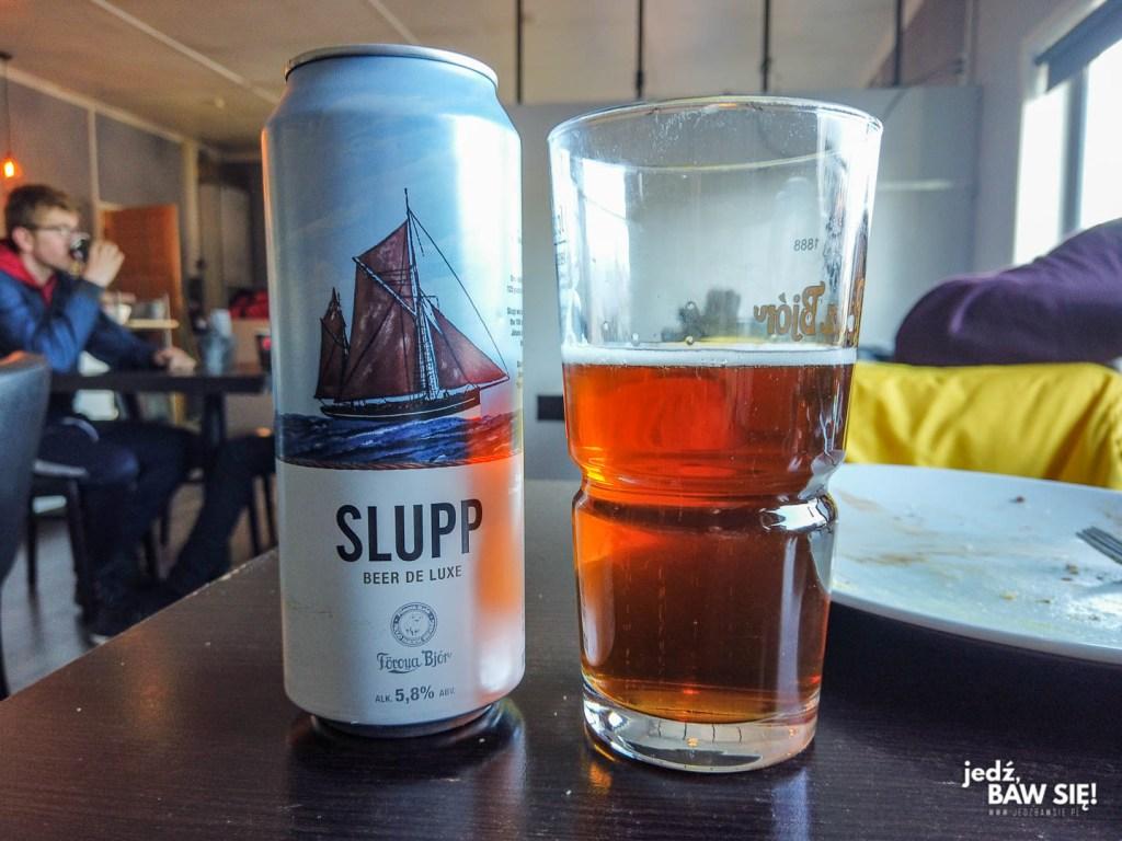 Wyspy Owcze - piwo w lokalu