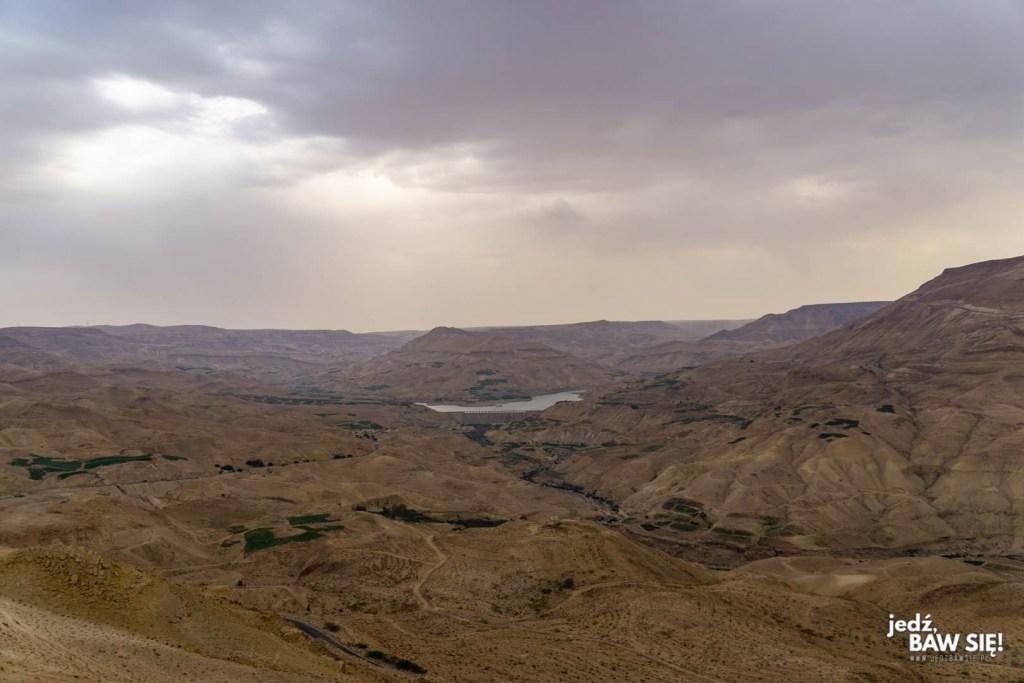 Jordania - Droga na południe
