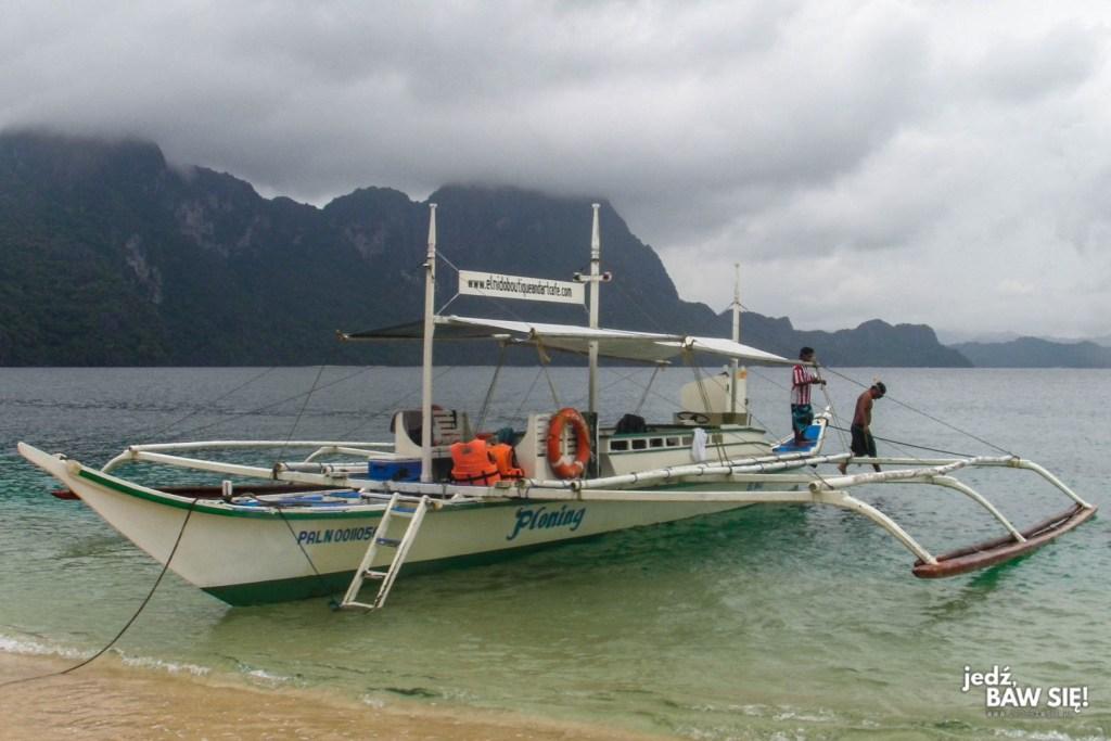 Filipiny - klasyczna łódź bangka