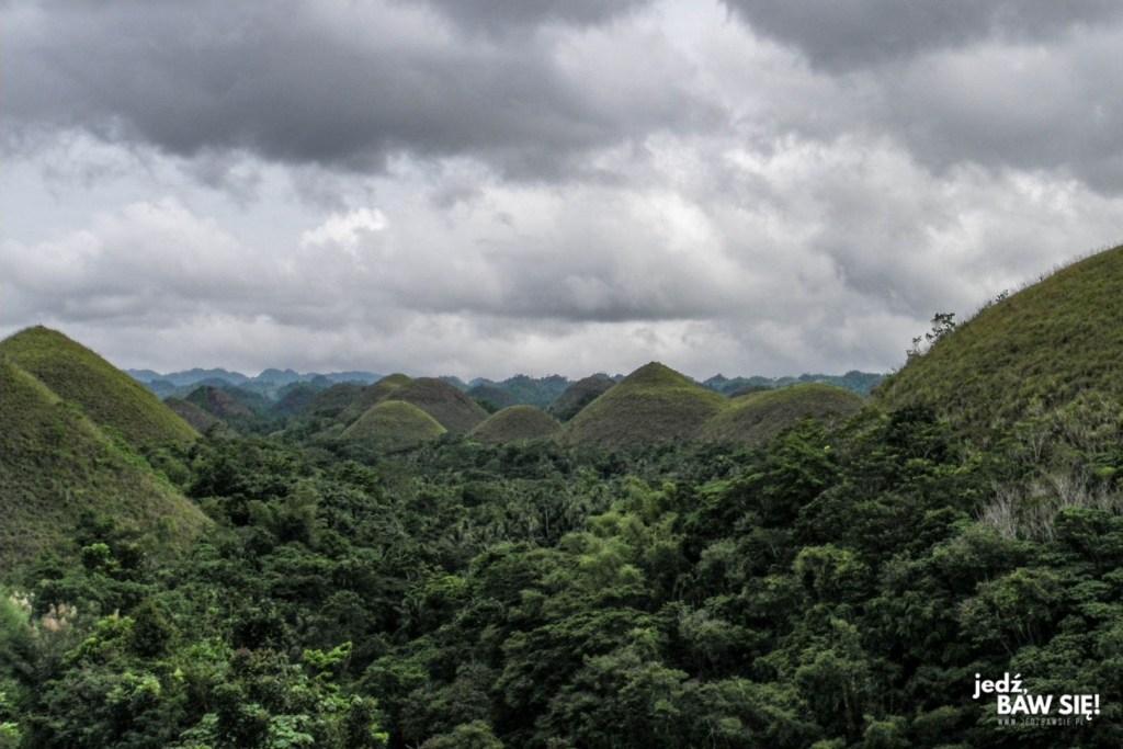 Filipiny - Bohol - Czekoladowe Wzgórza