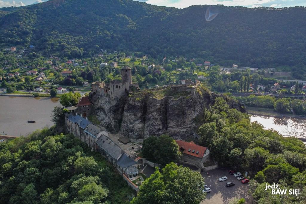 Czechy - zamek Strekov