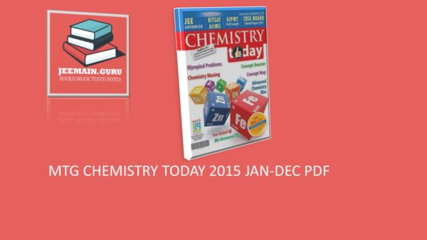 CHEMISTRY TODAY 2015