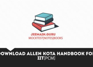PDF]Download Allen Handbook for Physics,chemistry and Maths