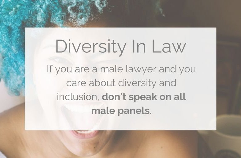 Increase Diversity in the Legal Profession by Ending All-Male Panels