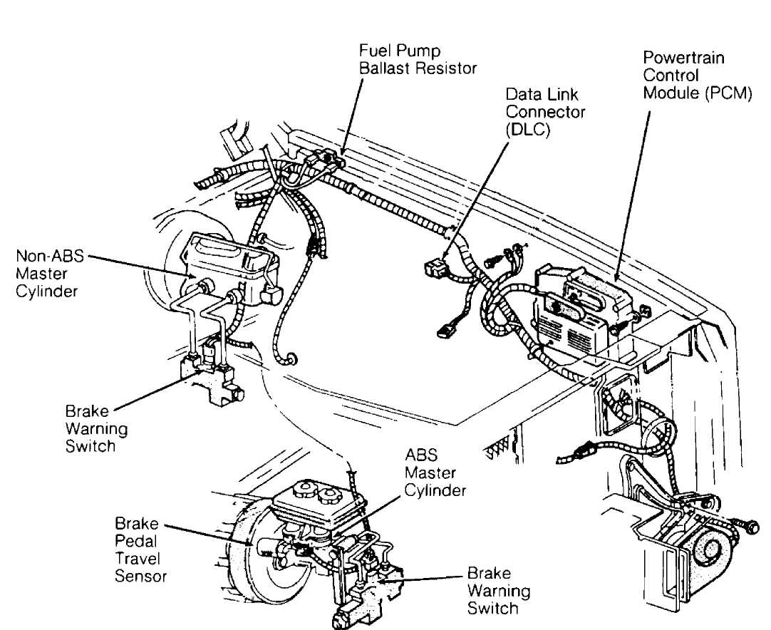 Ford Explorer Emergency Brake Diagram