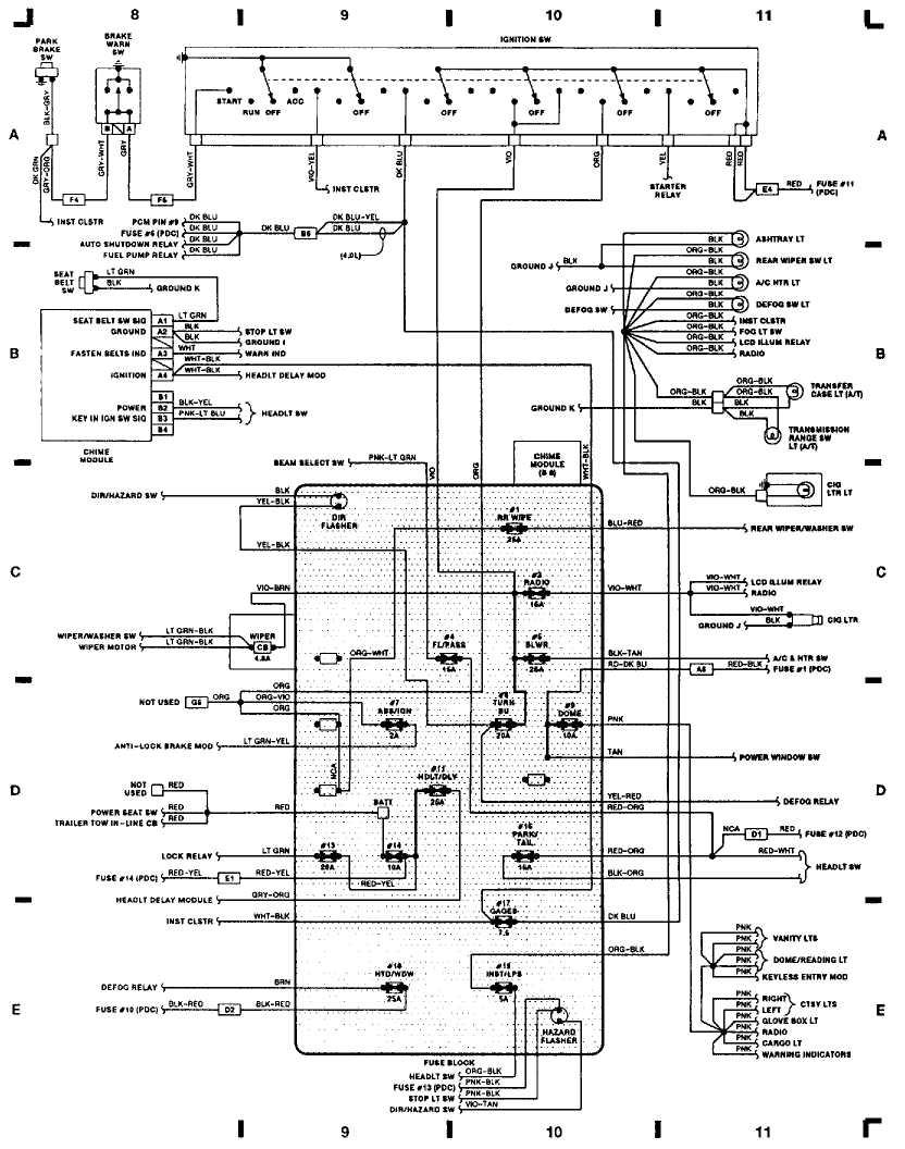 2001 Jeep Cherokee Fuel Pump Wiring Diagram Photos