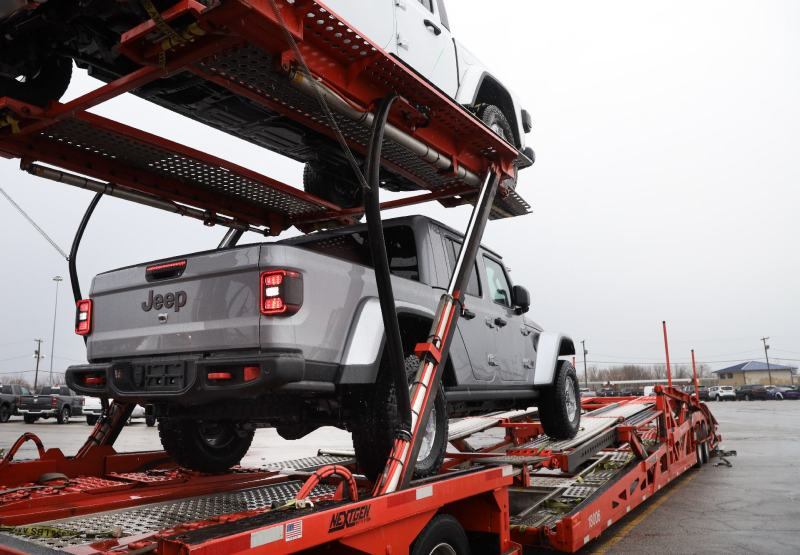 jeep gladiators are shipping