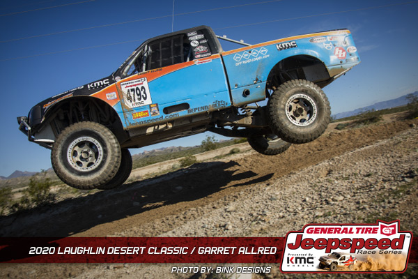 Jeepspeed, Garrett Allred, Laughlin Desert Classic, General Tire, KMC Wheels, Bink Designs