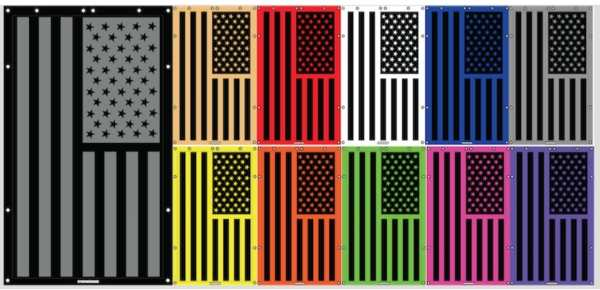Tactical American Flag Custom Print - SpiderWebShade