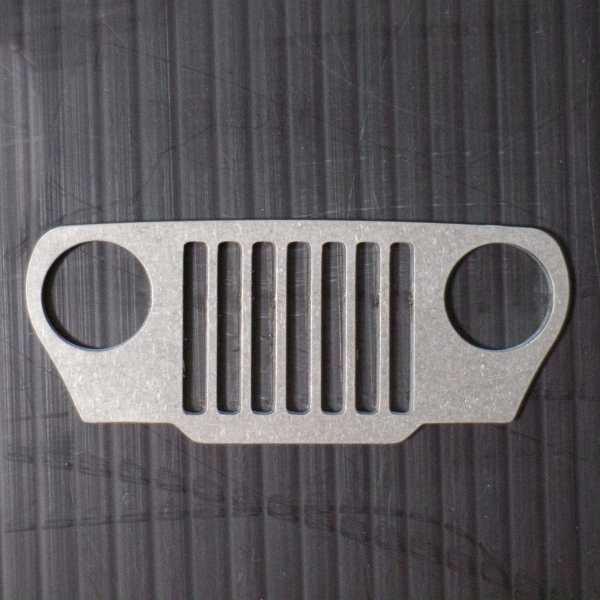 JeepMafia TJ Wrangler Keychain