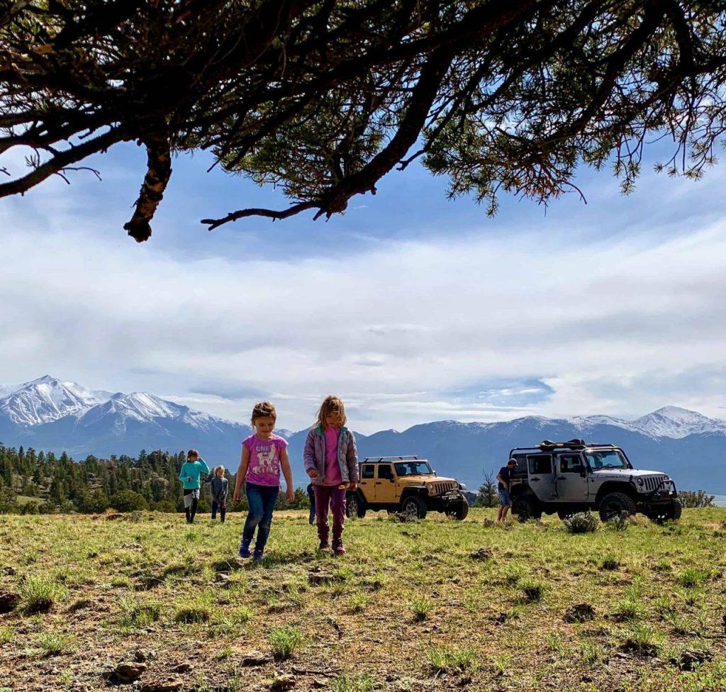 Jeep Tours Colorado - Native Jeeps - Family Four Wheeling