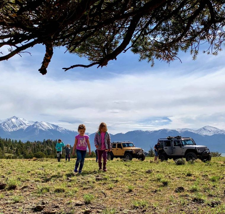 Jeep Tours Colorado - Native Jeeps - Family Four Wheeling
