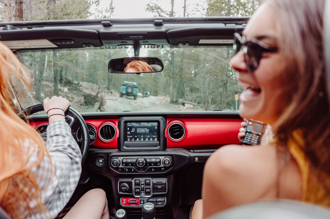 Jeep Tours Colorado Native Jeeps Girls offroading