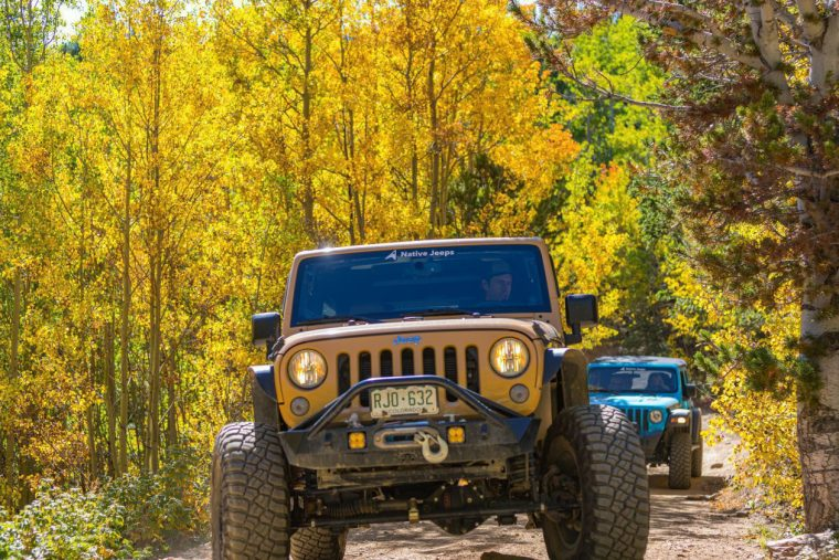 Native Jeeps Fall Colors