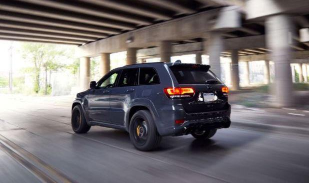 2018 Jeep Grand Cherokee Trackhawk rear view