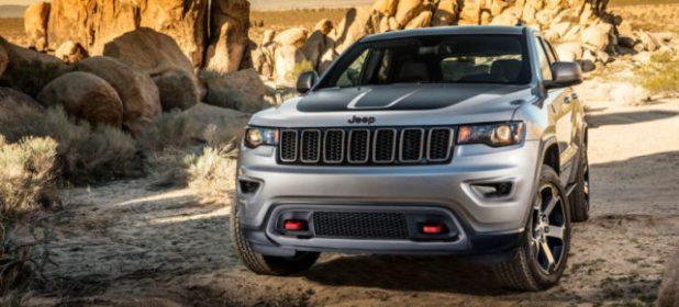2018 Jeep Grand Cherokeefront