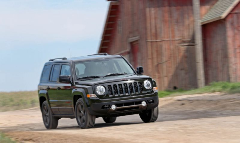 2018 Jeep Patriot has the great boxy Design