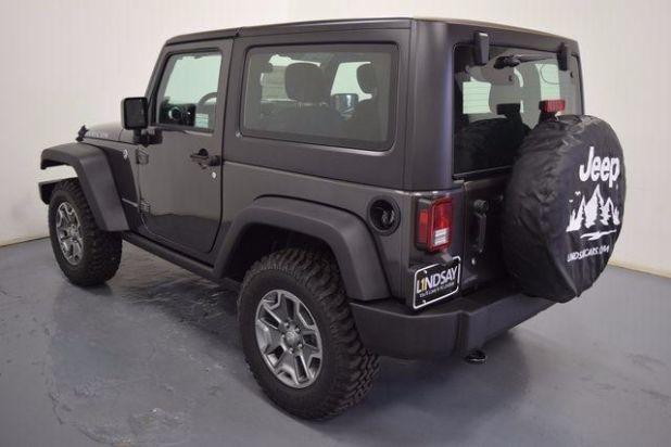 2018 Jeep Wrangler JK rear