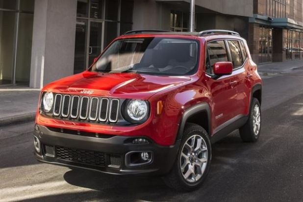 2019 Jeep Renegade front look