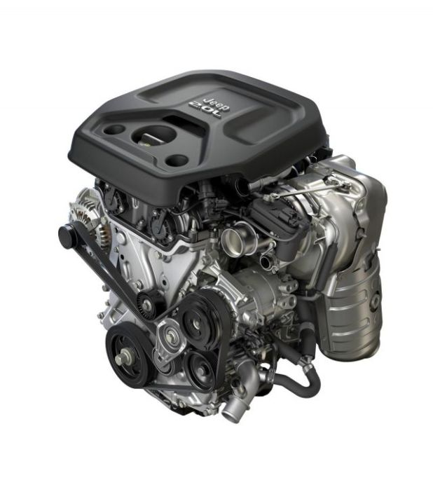 2019 Jeep Wrangler Unlimited engine