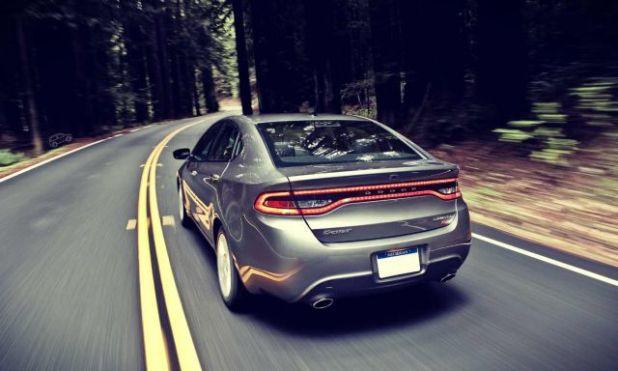 2019 Dodge Dart rear