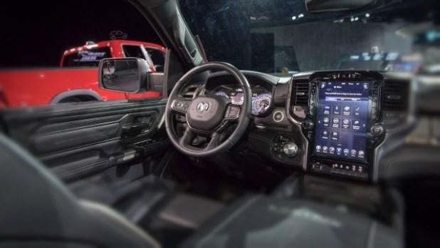 2019 Ram 1500 SRT Hellcat interior