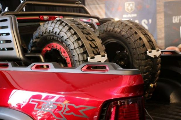 2019 Ram Rebel TRX rear tire
