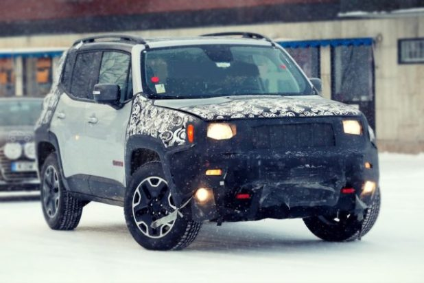 2020 Jeep Renegade front