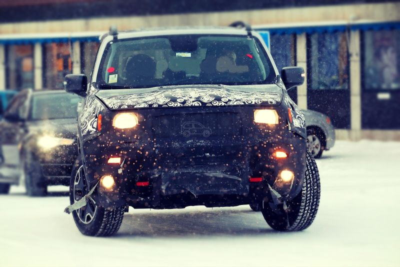 2020 Jeep Renegade leaked first spy pictures