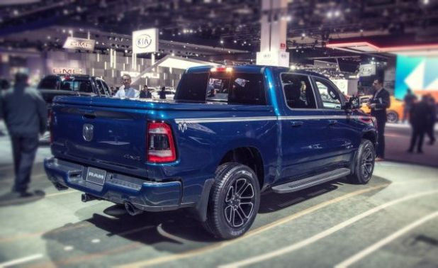 2019 Ram 1500 Big Horn rear