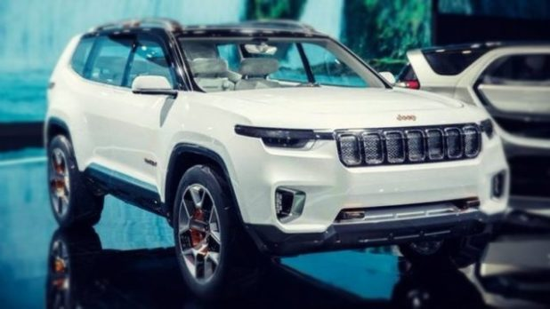 2020 Jeep Grand Wagoneer front
