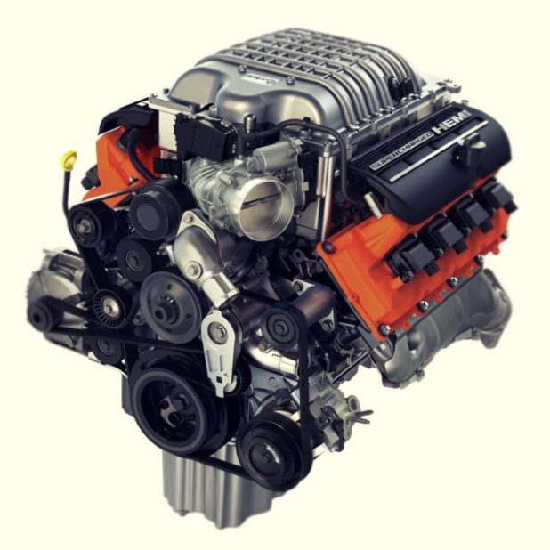 2019 Jeep Cherokee Trailhawk engine