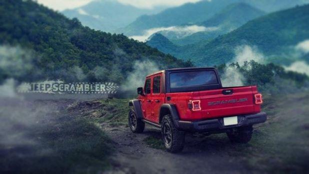 2020 Jeep Scrambler rear