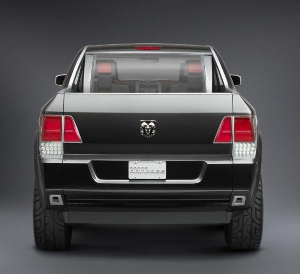 2019 Dodge Rampage rear