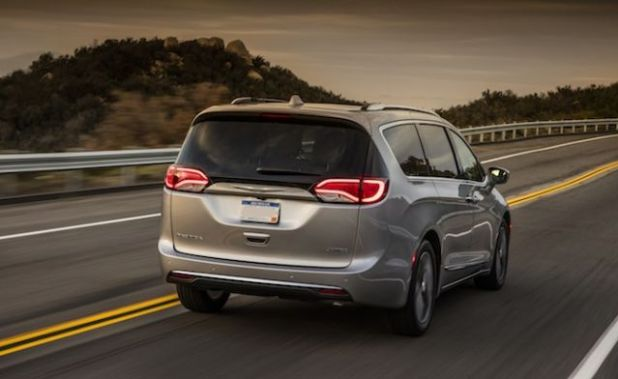 2020 Chrysler Pacifica rear