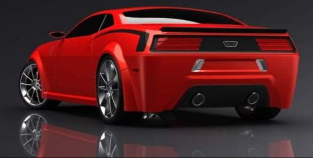 2020 Dodge Barracuda rear